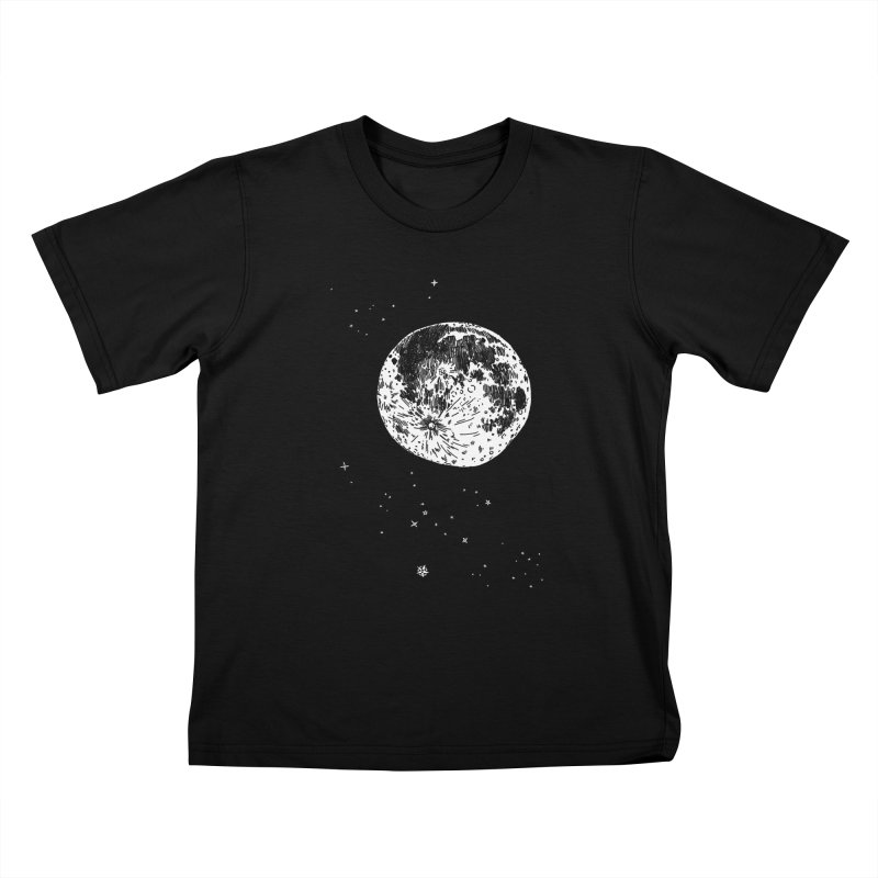 Full Moon Kids T-Shirt by SHOP THORAZOS TSHIRTS