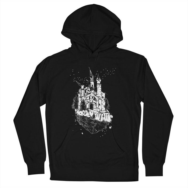 Crumbling Castle Women's French Terry Pullover Hoody by SHOP THORAZOS TSHIRTS