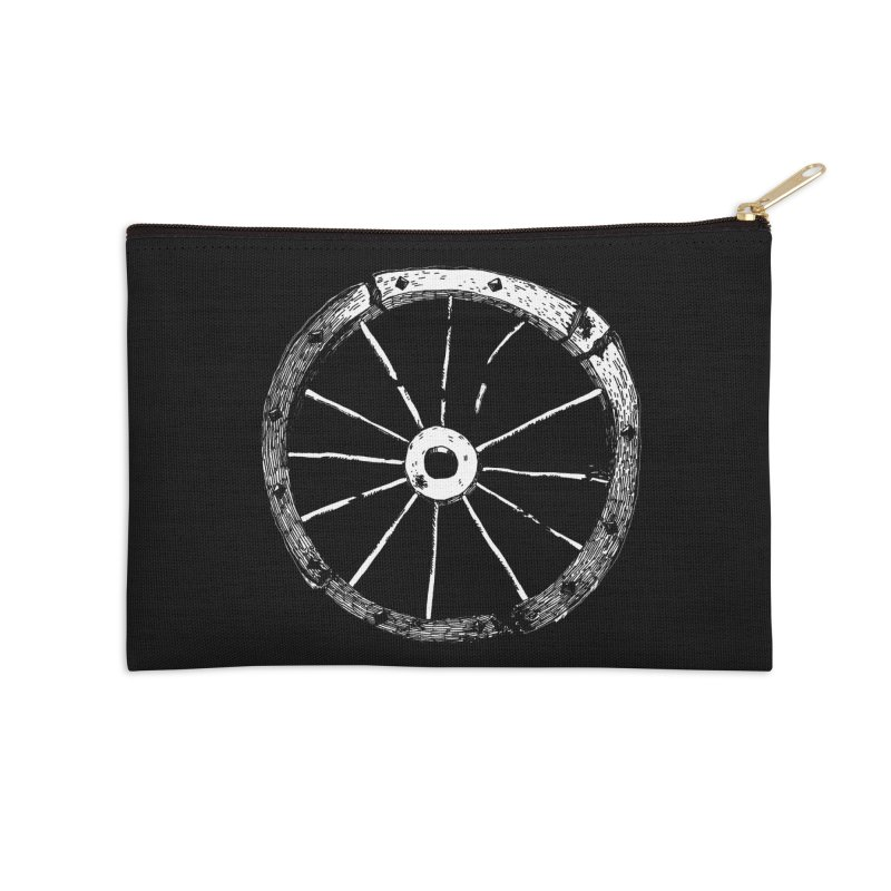 Catherine Wheel Accessories Zip Pouch by SHOP THORAZOS TSHIRTS