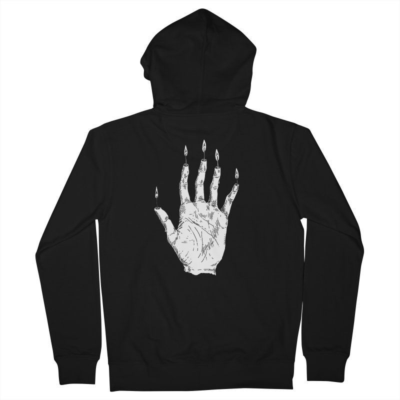 Hand of Glory Men's French Terry Zip-Up Hoody by SHOP THORAZOS TSHIRTS
