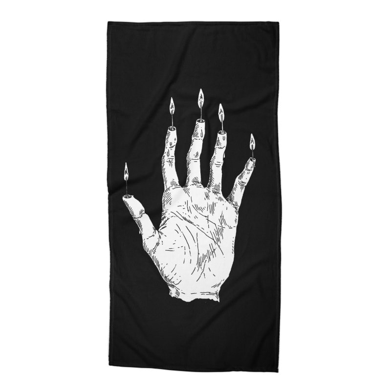 Hand of Glory Accessories Beach Towel by SHOP THORAZOS TSHIRTS
