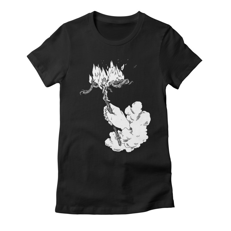 Sic Transit Gloria Mundi Women's Fitted T-Shirt by SHOP THORAZOS TSHIRTS