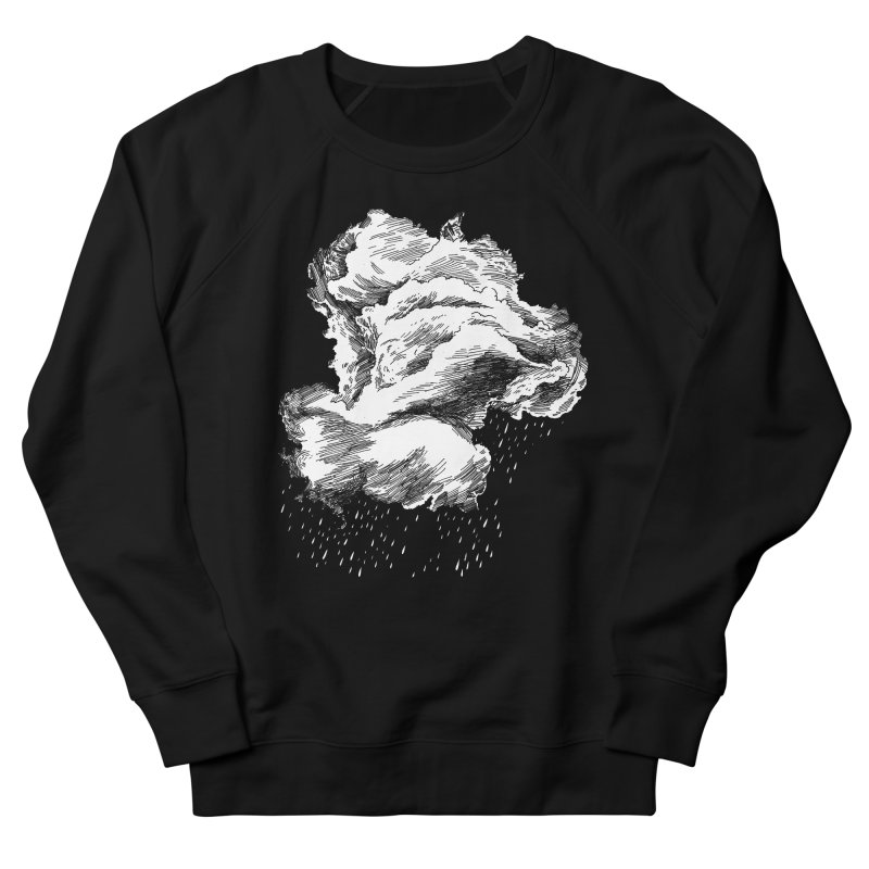 Ominous Cloud Men's French Terry Sweatshirt by SHOP THORAZOS TSHIRTS