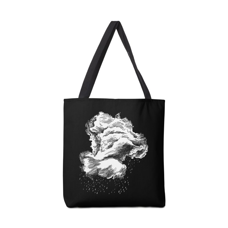 Ominous Cloud Accessories Tote Bag Bag by SHOP THORAZOS TSHIRTS