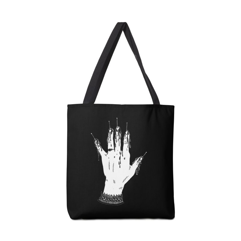 Torture Hand Accessories Tote Bag Bag by SHOP THORAZOS TSHIRTS