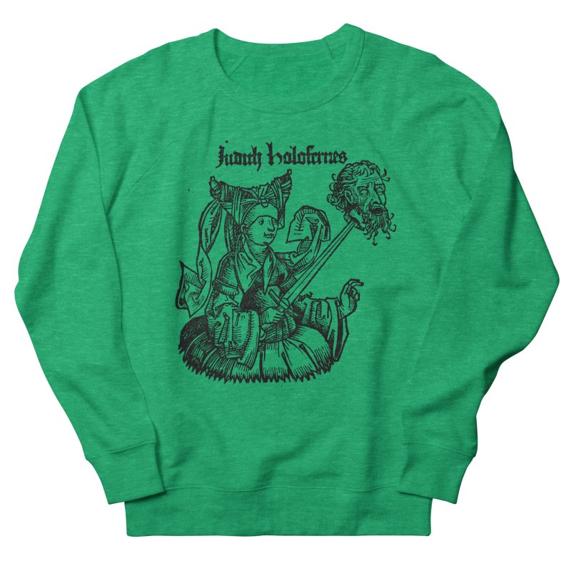 Judith and Holofernes Men's French Terry Sweatshirt by SHOP THORAZOS TSHIRTS