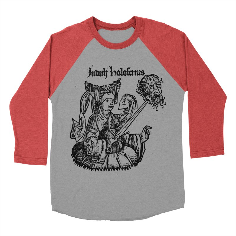 Judith and Holofernes Women's Baseball Triblend T-Shirt by SHOP THORAZOS TSHIRTS