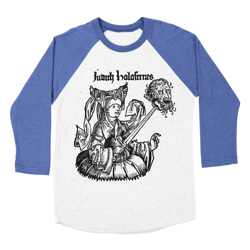 Judith and Holofernes Men's Baseball Triblend Longsleeve T-Shirt by SHOP THORAZOS TSHIRTS