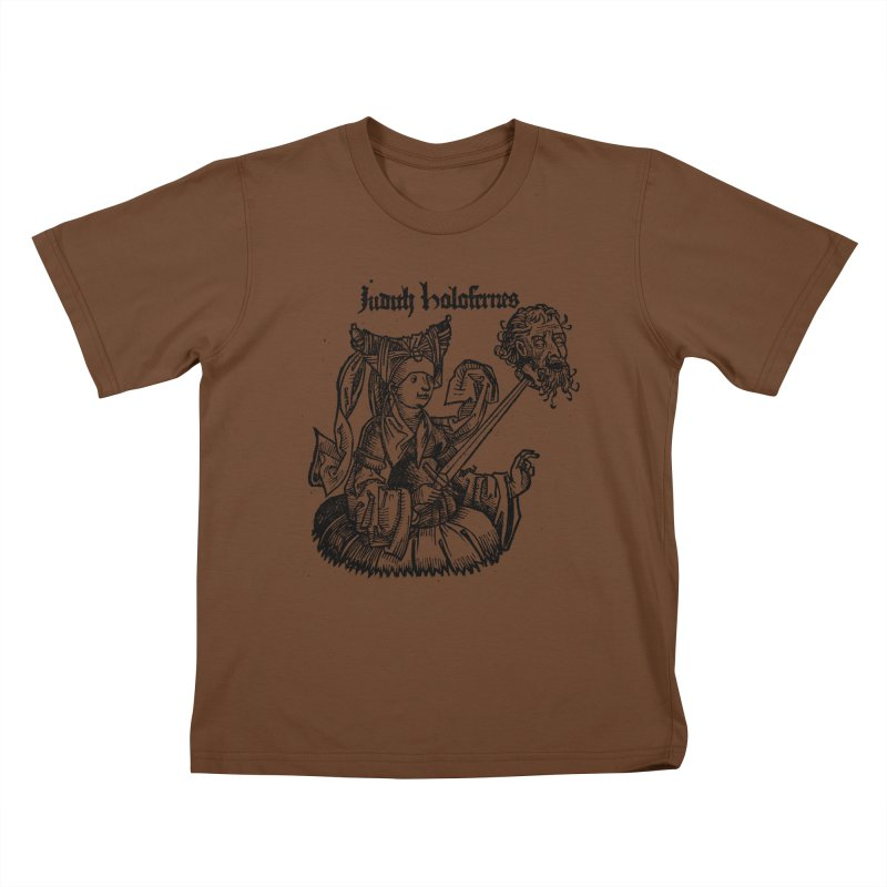 Judith and Holofernes Kids T-Shirt by SHOP THORAZOS TSHIRTS