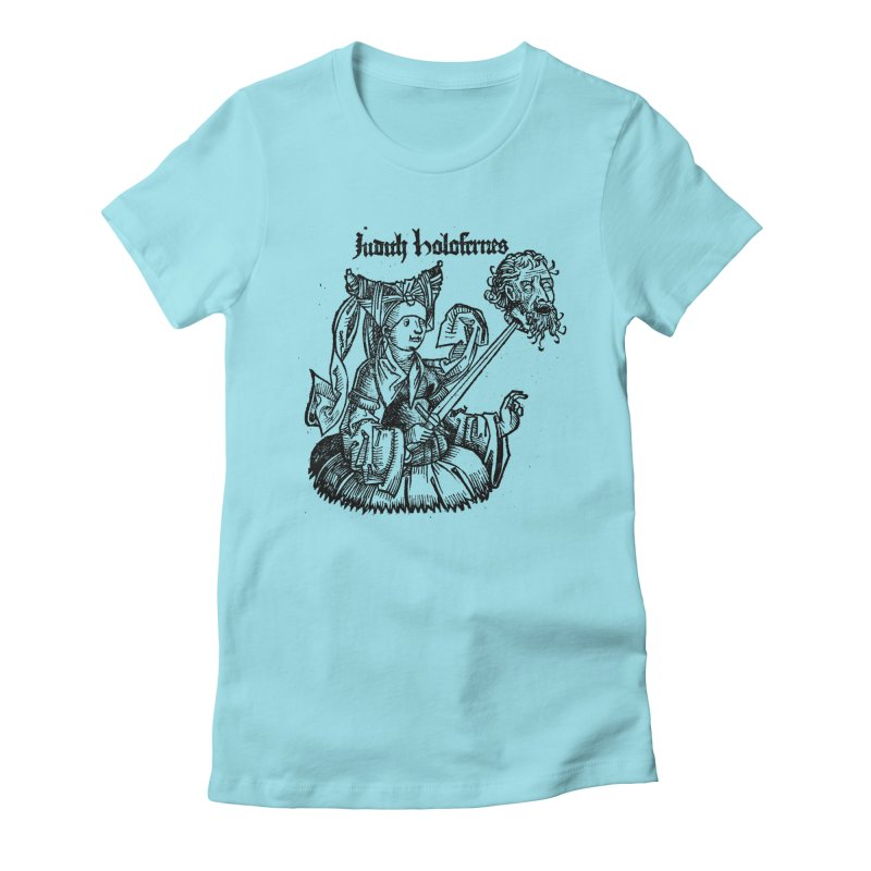 Judith and Holofernes Women's Fitted T-Shirt by SHOP THORAZOS TSHIRTS