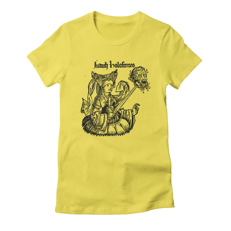 Judith and Holofernes Women's T-Shirt by SHOP THORAZOS TSHIRTS