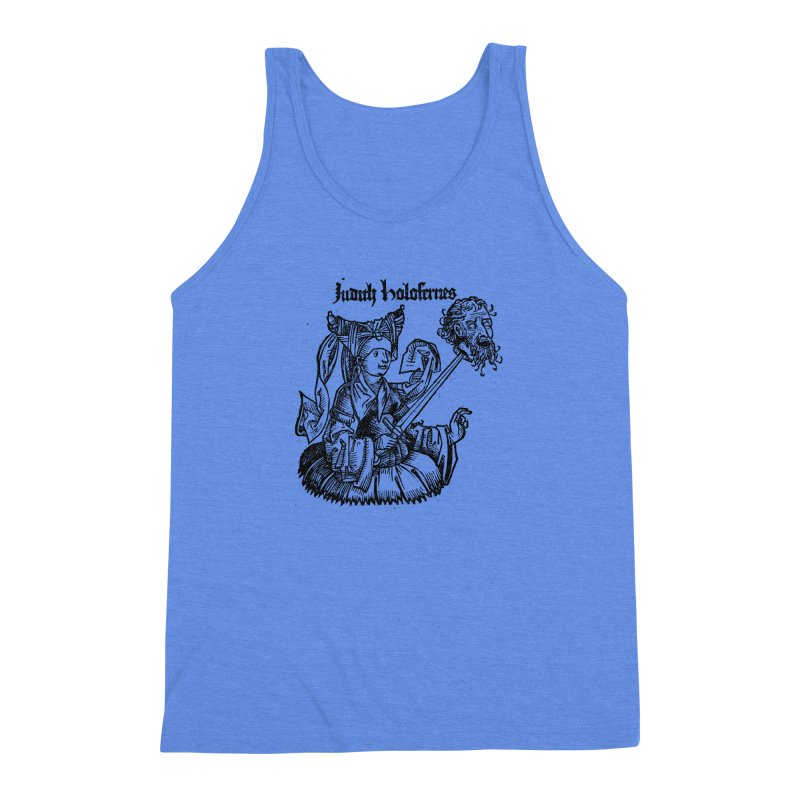 Judith and Holofernes Men's Triblend Tank by SHOP THORAZOS TSHIRTS