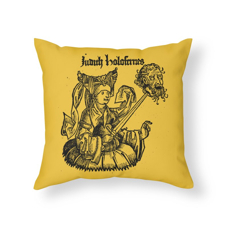 Judith and Holofernes Home Throw Pillow by SHOP THORAZOS TSHIRTS