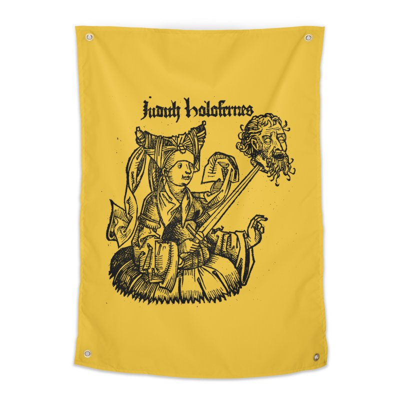 Judith and Holofernes Home Tapestry by SHOP THORAZOS TSHIRTS