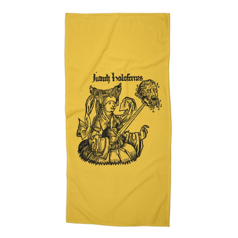 Judith and Holofernes Accessories Beach Towel by SHOP THORAZOS TSHIRTS