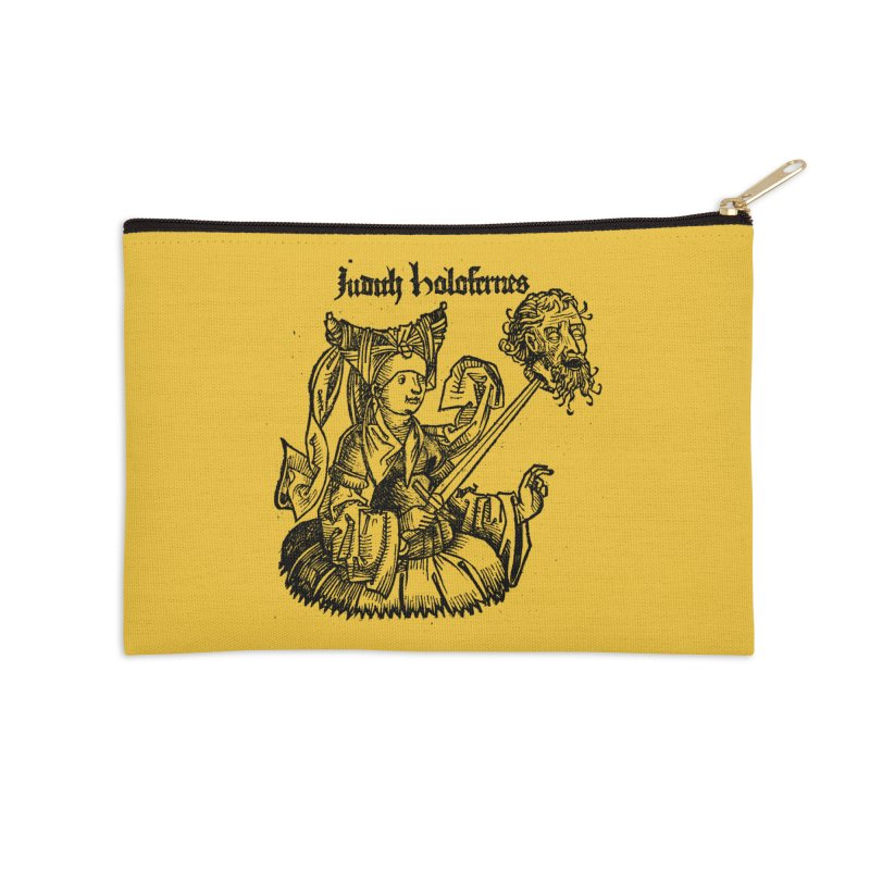 Judith and Holofernes Accessories Zip Pouch by SHOP THORAZOS TSHIRTS