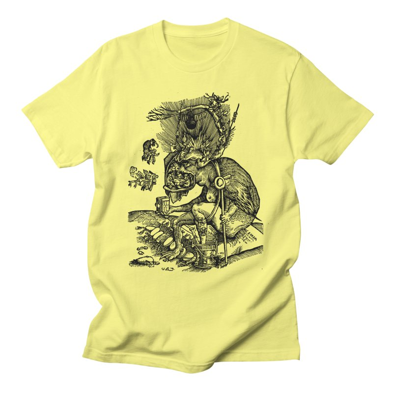Priests in the Jaws of the Devil Men's T-Shirt by SHOP THORAZOS TSHIRTS