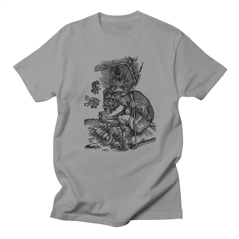 Priests in the Jaws of the Devil Women's Regular Unisex T-Shirt by SHOP THORAZOS TSHIRTS