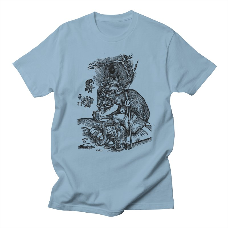 Priests in the Jaws of the Devil Men's Regular T-Shirt by SHOP THORAZOS TSHIRTS