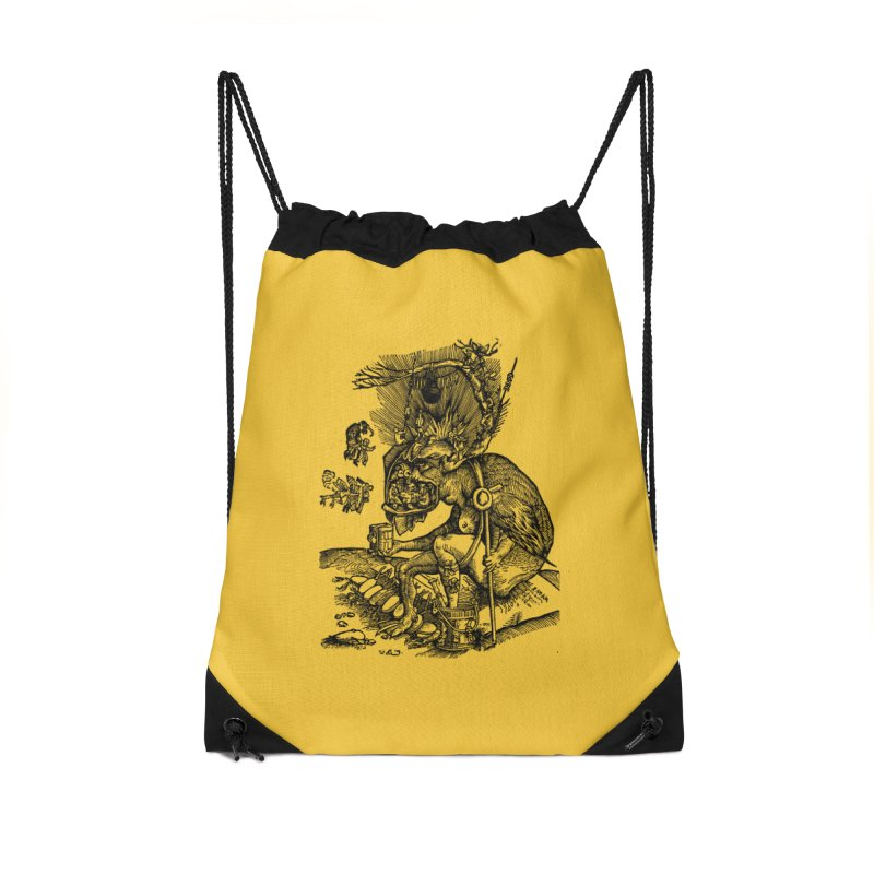 Priests in the Jaws of the Devil Accessories Bag by SHOP THORAZOS TSHIRTS
