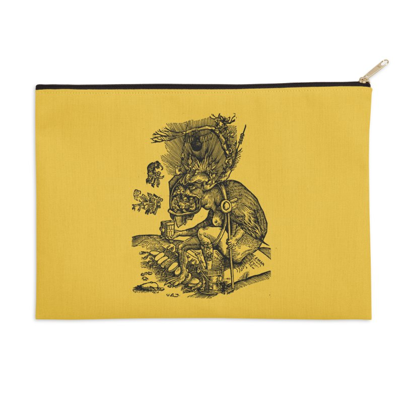 Priests in the Jaws of the Devil Accessories Zip Pouch by SHOP THORAZOS TSHIRTS