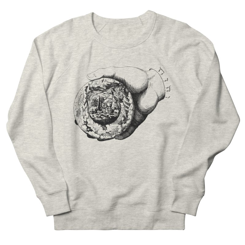 Hand of God Women's French Terry Sweatshirt by SHOP THORAZOS TSHIRTS
