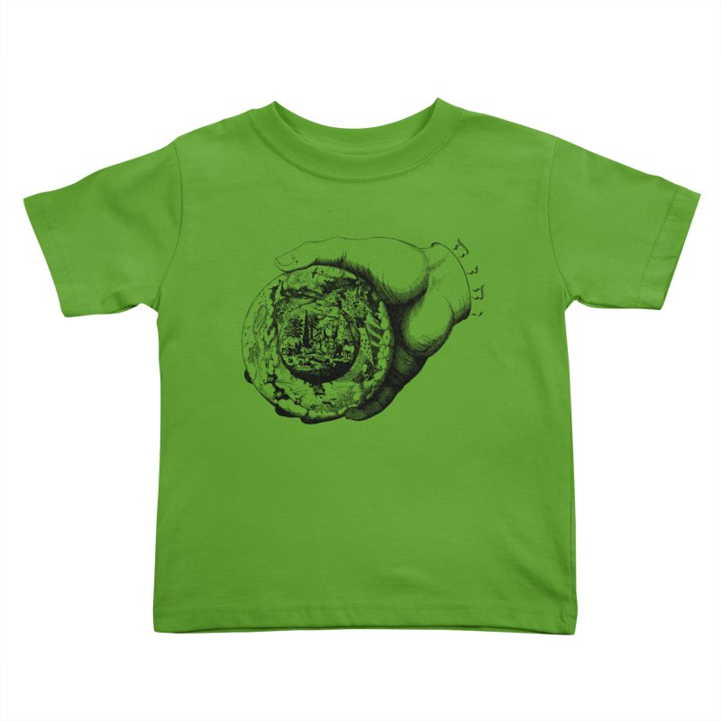 Hand of God Kids Toddler T-Shirt by SHOP THORAZOS TSHIRTS