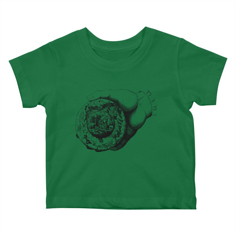 Hand of God Kids Baby T-Shirt by SHOP THORAZOS TSHIRTS