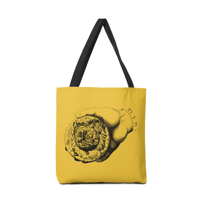 Hand of God Accessories Tote Bag Bag by SHOP THORAZOS TSHIRTS