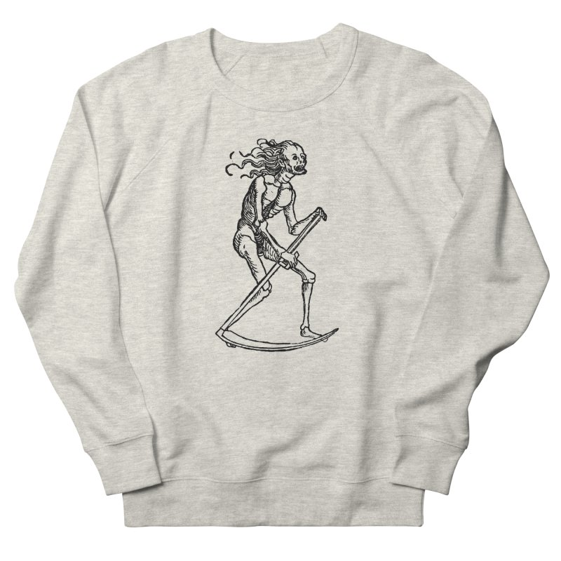 Death the Reaper Women's French Terry Sweatshirt by SHOP THORAZOS TSHIRTS