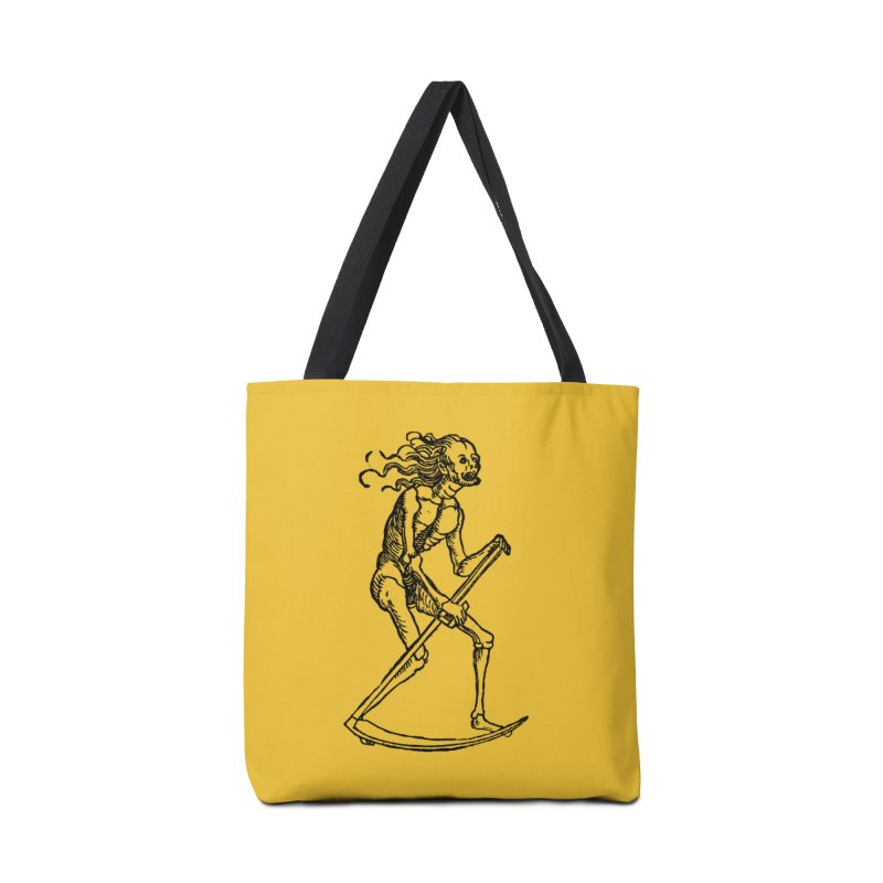 Death the Reaper Accessories Tote Bag Bag by SHOP THORAZOS TSHIRTS
