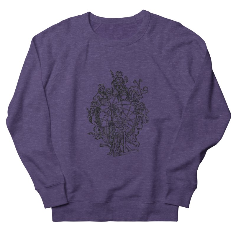 Celestial Wheel Men's French Terry Sweatshirt by SHOP THORAZOS TSHIRTS