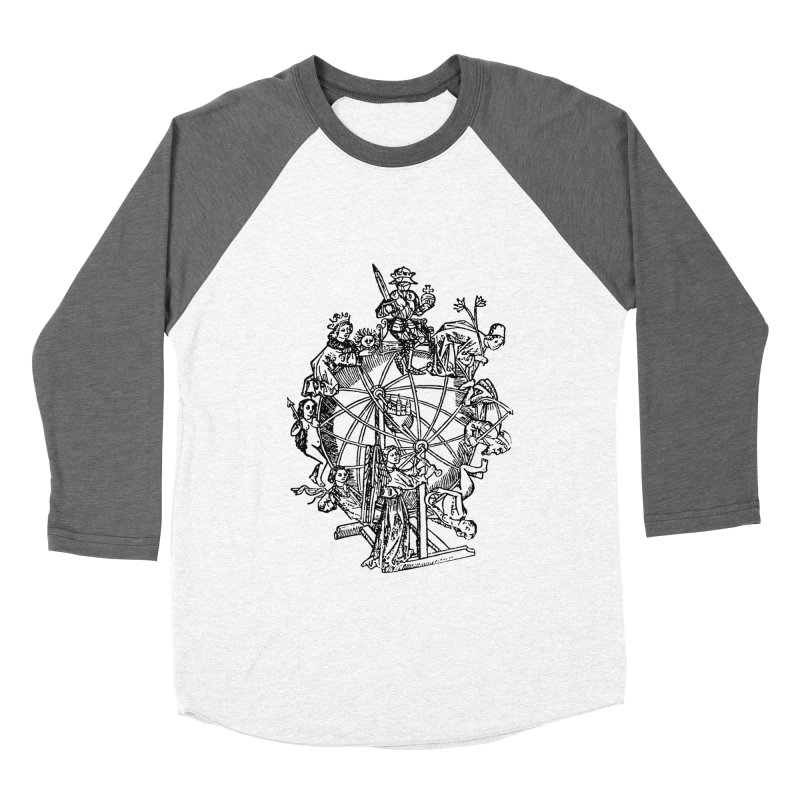 Celestial Wheel Men's Baseball Triblend Longsleeve T-Shirt by SHOP THORAZOS TSHIRTS