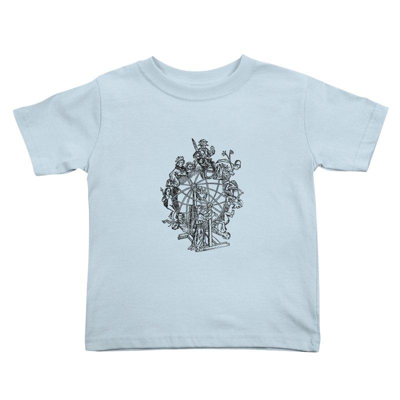 Celestial Wheel Kids Toddler T-Shirt by SHOP THORAZOS TSHIRTS