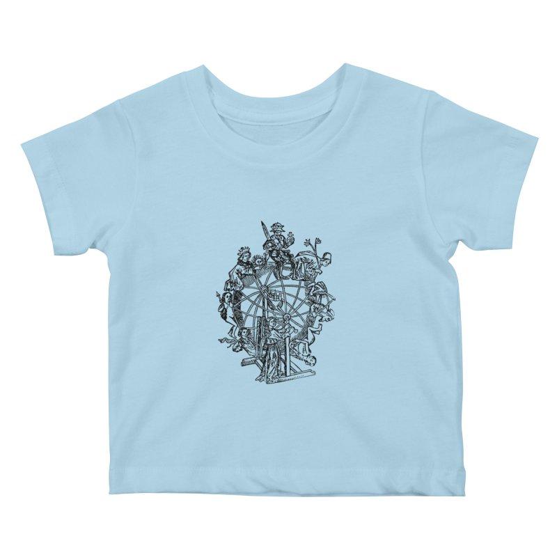 Celestial Wheel Kids Baby T-Shirt by SHOP THORAZOS TSHIRTS