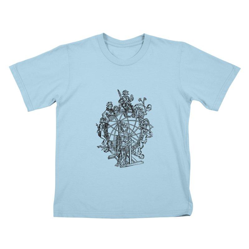 Celestial Wheel Kids T-Shirt by SHOP THORAZOS TSHIRTS