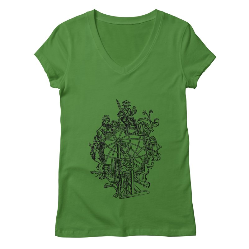 Celestial Wheel Women's Regular V-Neck by SHOP THORAZOS TSHIRTS