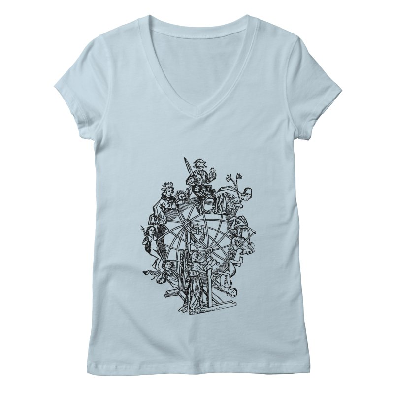 Celestial Wheel Women's V-Neck by SHOP THORAZOS TSHIRTS