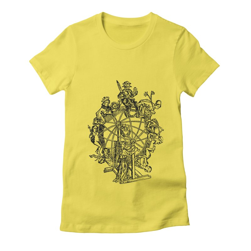 Celestial Wheel Women's T-Shirt by SHOP THORAZOS TSHIRTS