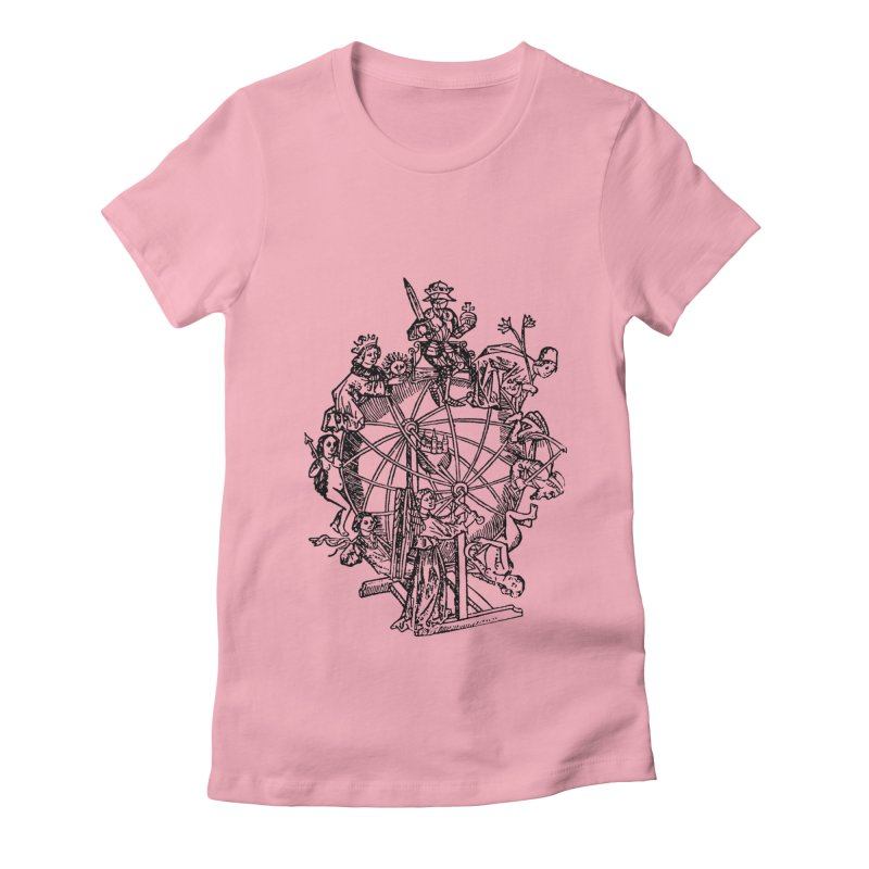 Celestial Wheel Women's Fitted T-Shirt by SHOP THORAZOS TSHIRTS