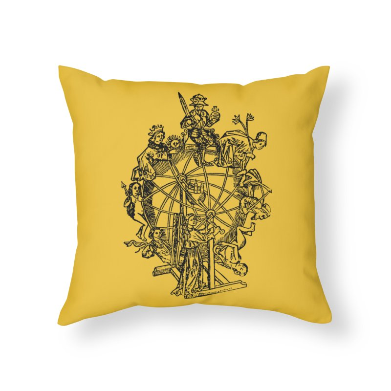 Celestial Wheel Home Throw Pillow by SHOP THORAZOS TSHIRTS
