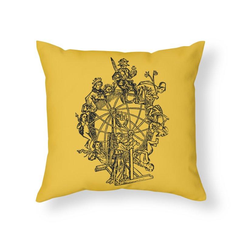 Celestial Wheel Home Throw Pillow by SHOP THORAZOS TSHIRTS