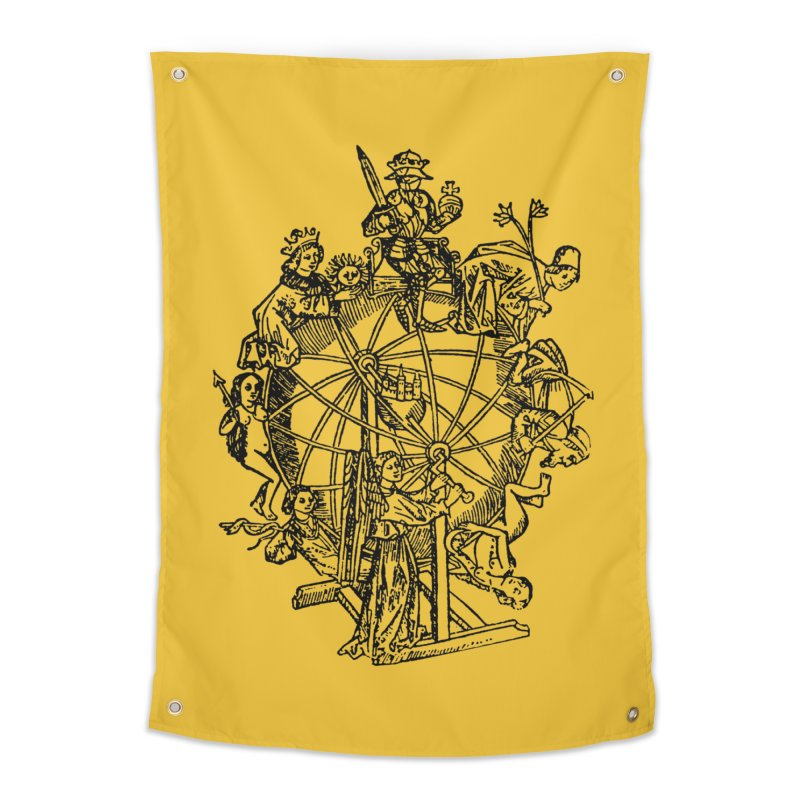 Celestial Wheel Home Tapestry by SHOP THORAZOS TSHIRTS