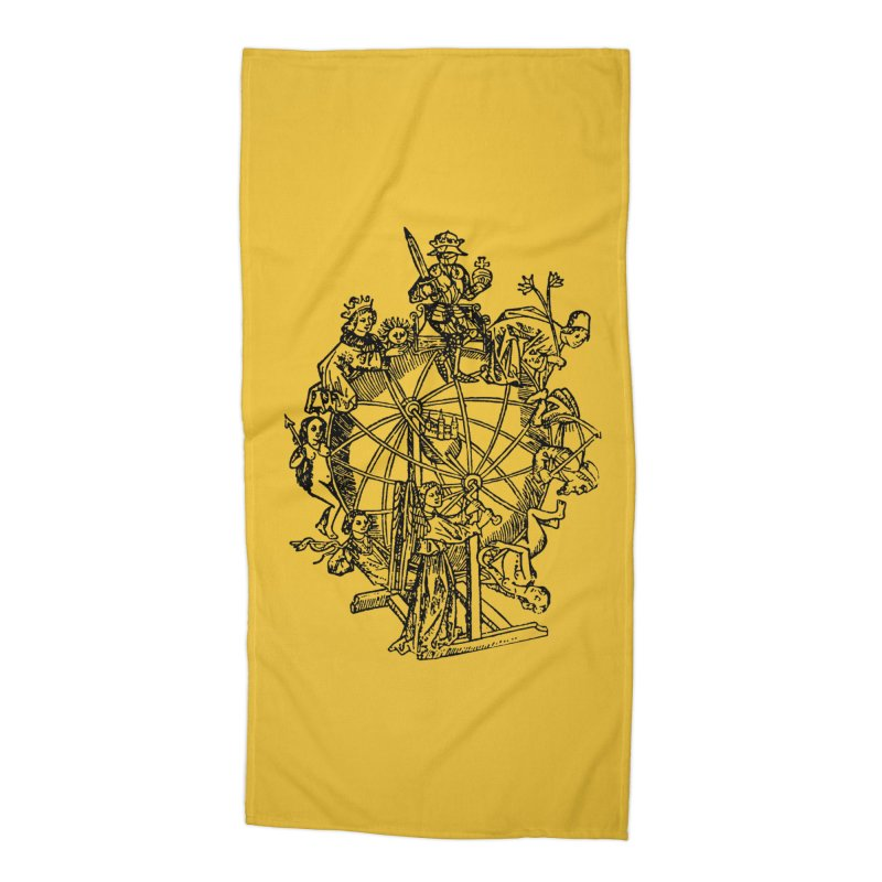Celestial Wheel Accessories Beach Towel by SHOP THORAZOS TSHIRTS