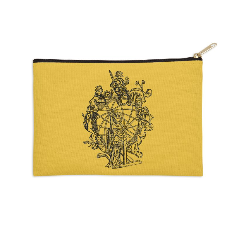 Celestial Wheel Accessories Zip Pouch by SHOP THORAZOS TSHIRTS