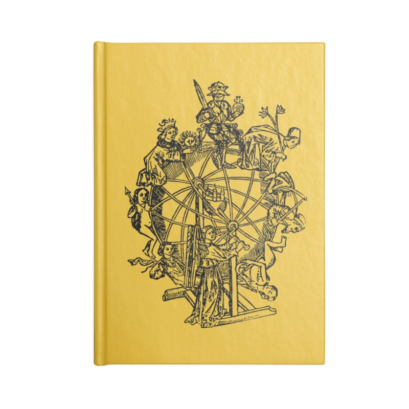 Celestial Wheel Accessories Notebook by SHOP THORAZOS TSHIRTS