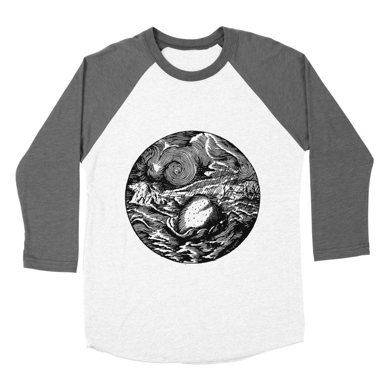 Heart in Peril Women's Baseball Triblend Longsleeve T-Shirt by SHOP THORAZOS TSHIRTS