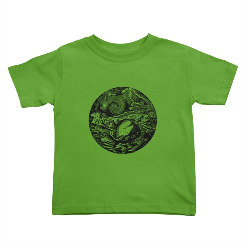 Heart in Peril Kids Toddler T-Shirt by SHOP THORAZOS TSHIRTS