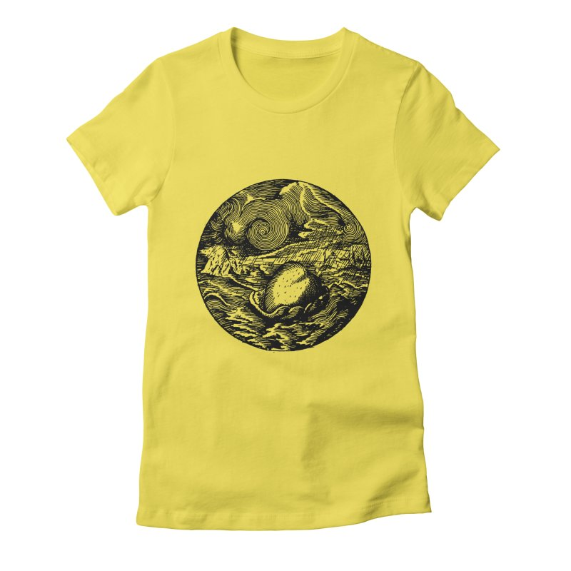 Heart in Peril Women's T-Shirt by SHOP THORAZOS TSHIRTS