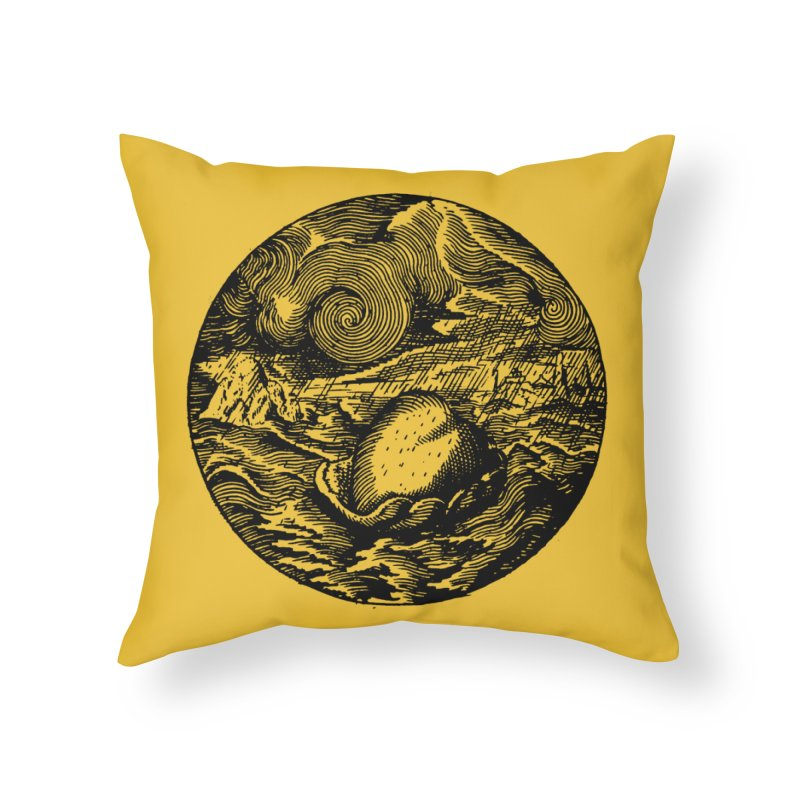 Heart in Peril Home Throw Pillow by SHOP THORAZOS TSHIRTS